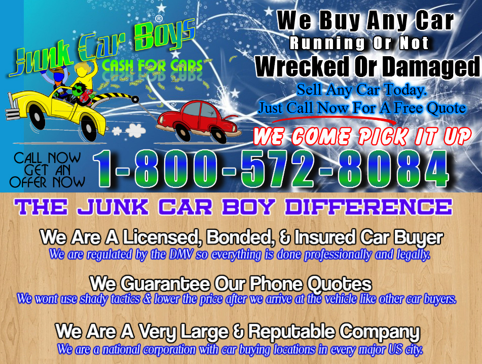 Cash For Cars Denver CO - We Buy Junk Vehicles Same Day